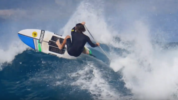 The Canary Project: Mo Freitas SUP Surfing Gran Canaria