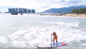Inflatable SUP Fun with Carsten Kurmis