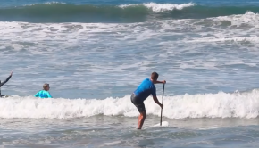 How to Paddle Out on Your SUP Surf Board