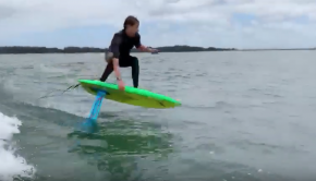 Foil surfing South Africa