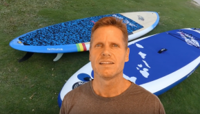 Inflatable SUP- Honest Look at iSUP's vs. hard boards