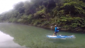 SUP river: Cares-Deva Riders having fun!!