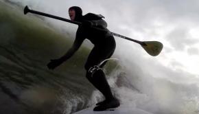 Winter SUP Surf highlights 2018
