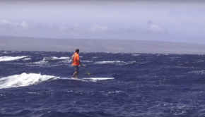 Maui 2 Molokai SUP downwinder