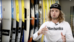 Tyrone explains the overall Vanhunks SUP range.