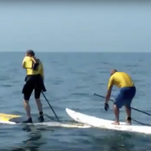 Crossing the English Channel to France by Stand Up Paddle Board