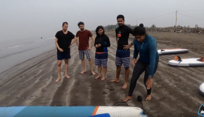 First Ever SUP Camp in #MUMBAI