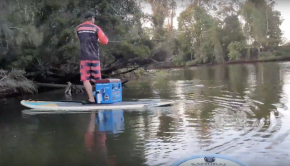 Stand Up Paddle Board Fishing