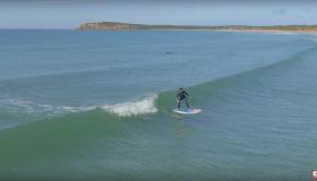 SUP Surf Foiling