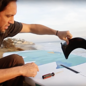 How To: Install a Fin Into a Stand Up Paddle Board