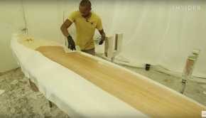 How Handcrafted Wooden Paddle Boards