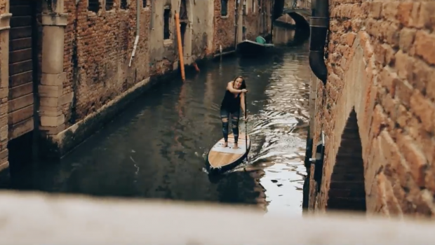 Stand up paddle in Venice