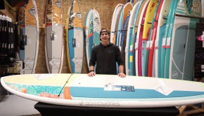 "Boardworks Surf 2018 Sirena 10'4"" Paddle Board Review"