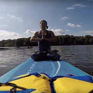 SUP Yoga Christie Lake