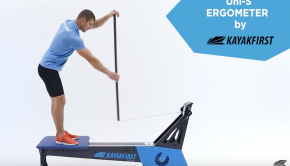 KayakFirst Stand-Up-Paddle paddle machine, SUP ergometer