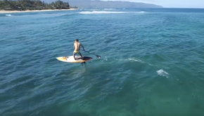 SUP Surf Foiling Hawaii