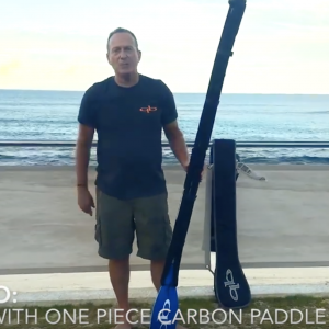 How to Travel With A One Piece SUP Paddle