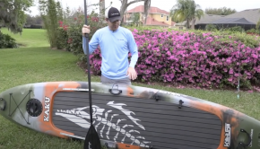 Kaku Kahuna Paddle Board Review (SUP Fishing)