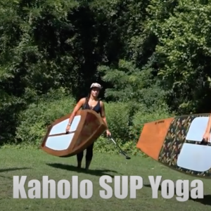 SUP Yoga on a Paddleboard You Built Yourself