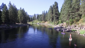 Stand up Paddle Board Leavenworth and SUP The Wenatchee River