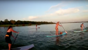 DFW Surf Sunset Paddle Adventure