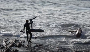 Afternoon Longboard and SUP Foiling Sesh in Brittany - Benoit Carpentier