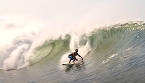 zane surfing a wave in mexico interview starboard tiki talks
