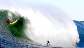 kai lenny on mavericks in california