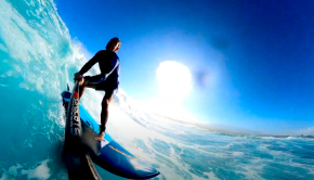 sup surfing outer reefs maui with starboard rider