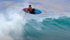 Follow Ocean Master Zaniac, or Zane Kekoa Schweitzer, on a sweet sup surfing session at one of his local spots! Some impressive moves in there, as usual...