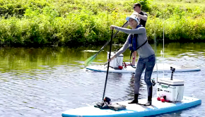 Have you ever been paddle board fishing? It's quite new concept, adding a few more balance skills to a normal fishing session. Follow Bri Andrassy from BA Fishing, on this Snakehead fishing session floating down a Florida canal. Enjoy!