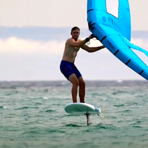 Wing Foiling has exploded into the watersports game in the last 2 years, have you tried it yet? Follow pro windsurfer Nico Prien on one of his first Wing Foiling sessions!