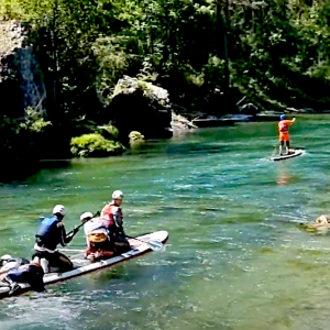 """Paragraphe Watch 3 minutes of """"La Sablière"""", the name of a class 3 rapids section in the middle of the Ultra Long Distance stand up paddle River race, the Tarn Water Race 2021. Ouvrir/fermer la section Single Post Options Featured Post?"""