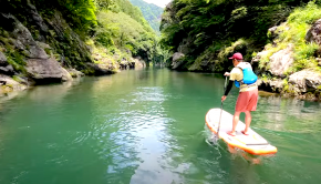 Follow the Nomadic Gaijin channel on a sweet river SUP session in Tokyo Japan, some amazing scenery is on the menu!