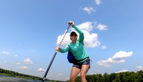 Join April Zilg as she chases down big wakeboard boats for some of the best stand-up paddle boarding yet. Check it out!Join April Zilg as she chases down big wakeboard boats for some of the best stand-up paddle boarding yet. Check it out!