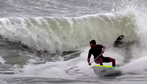 Wellington Reis putting in the work for this year's stand up paddle surfing season!